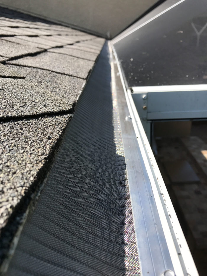 Roof Gutter Installation