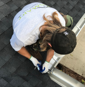 gutter cleaning in Clearwater, FL