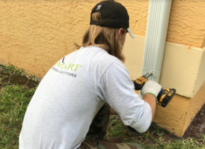Gutter repair services done in New Port Richey FL